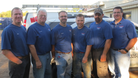 Mohr Plumbing Team Photo